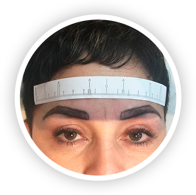 Before Treatment - Microblading by Olga Lundin